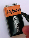 Houston Infrared Home Inspection - Alarm Battery