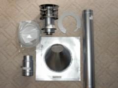 Houston Home Inspection - Tankless Water Heater Vent Kit