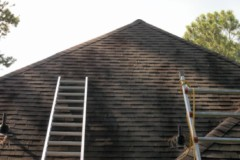 Houston Home Inspection - Cutting Roof Vent Opening