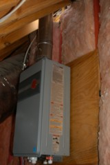 Houston Home Inspection - New Water Heater