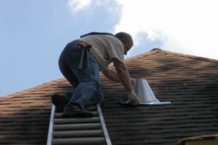 Houston Home Inspection - Fitting the Roof Jack