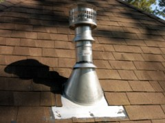 Houston Home Inspection - Completed Vent Installation