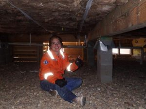 HomeCert Houston Home Inspection Company - home inspection client
