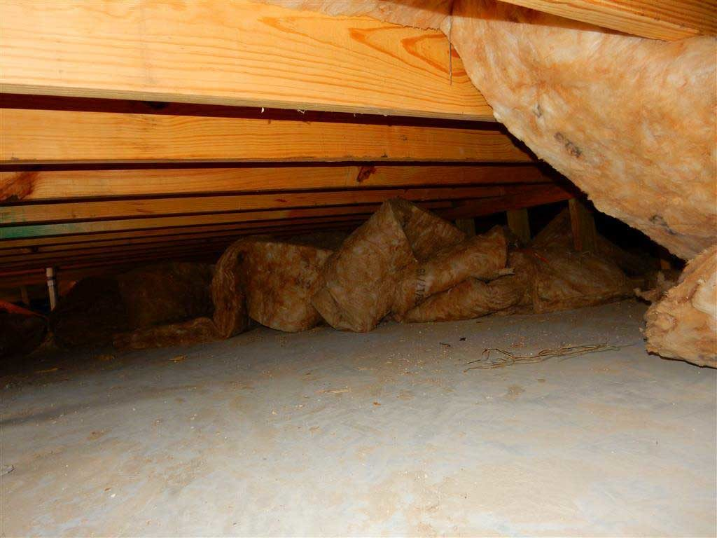 Houston Home Inspection - New construction crawlspace inspection