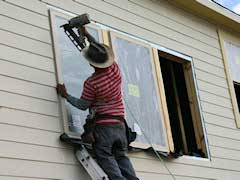 Houston New Construction Inspection - Bad Window Installation