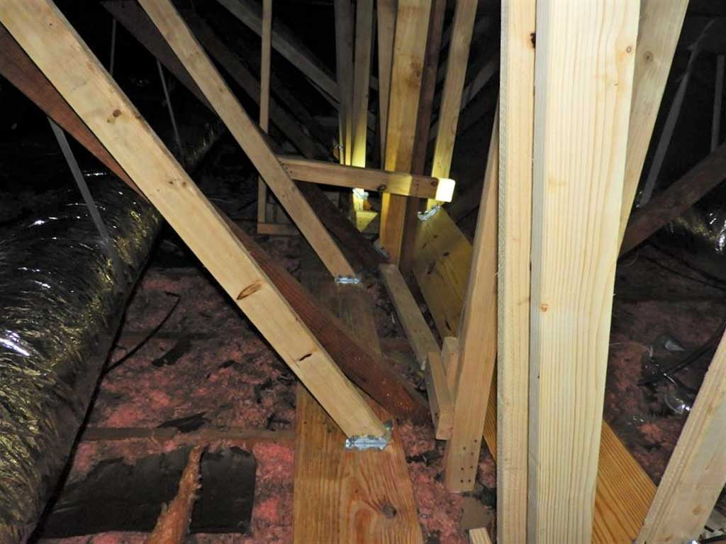 Houston Home Inspection - Structural Inspection of Houston Flip Home
