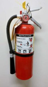 Fire Extinguisher - Houston Home Inspector