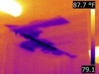 Houston Infrared home Inspection - moisture intrusion