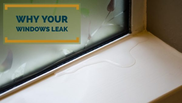 Leaky window in Houston home