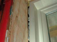 window install damaged nailing flange